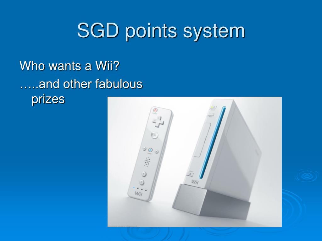 SGD points system