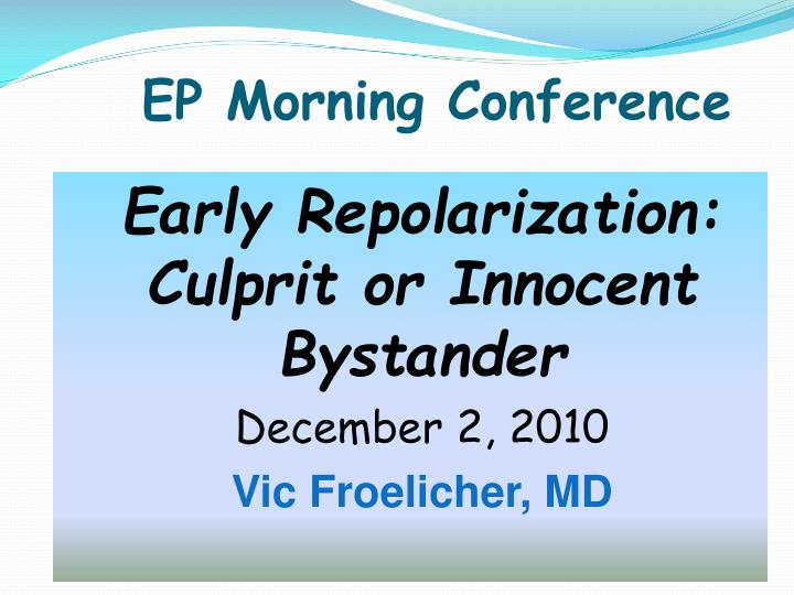 Ep morning conference