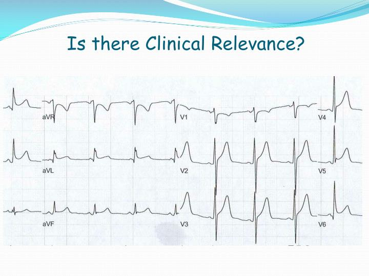 Is there Clinical Relevance?