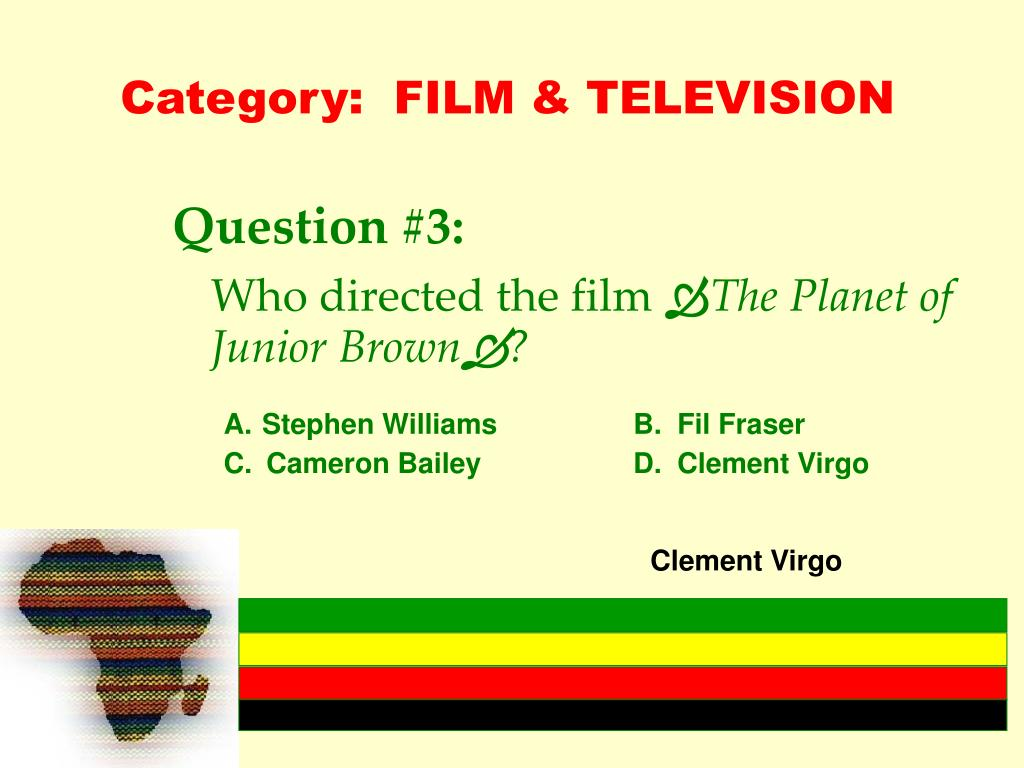 Category:  FILM & TELEVISION