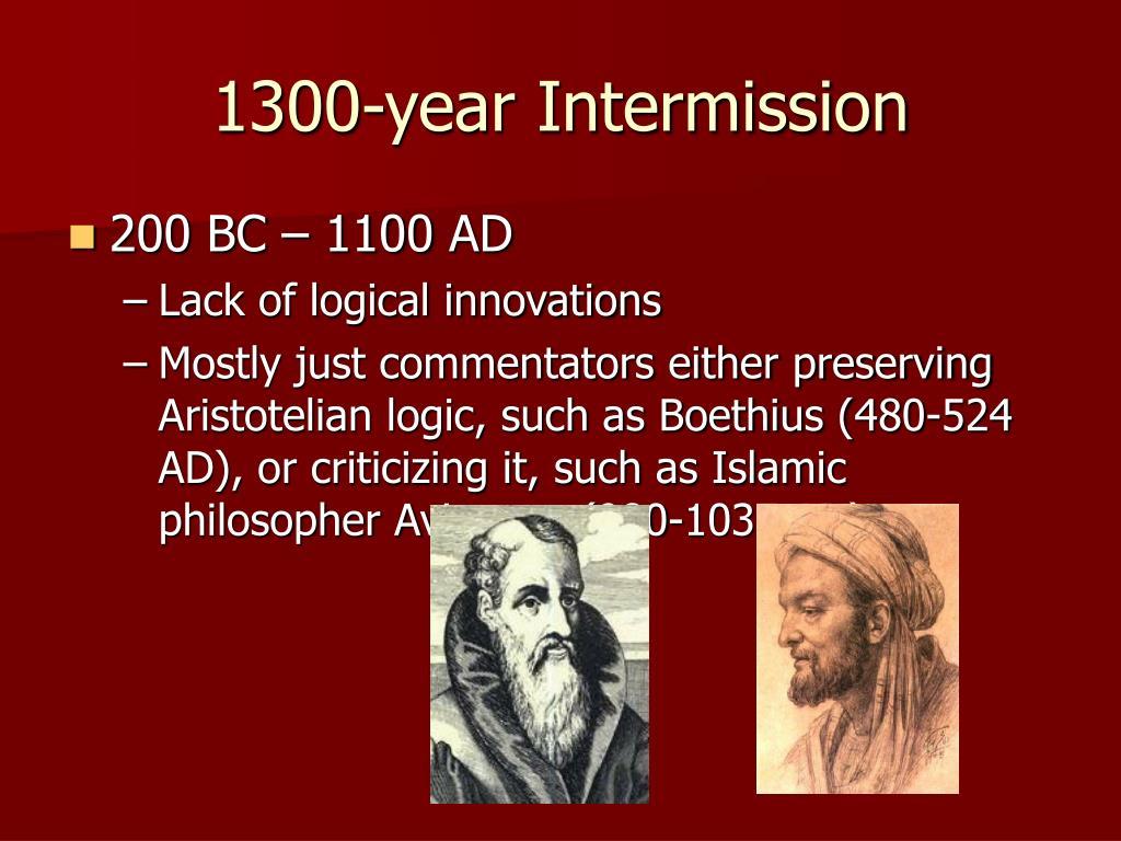 1300-year Intermission