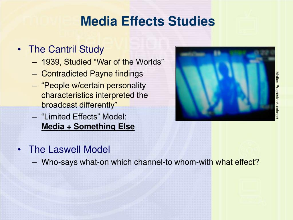 Media Effects Studies