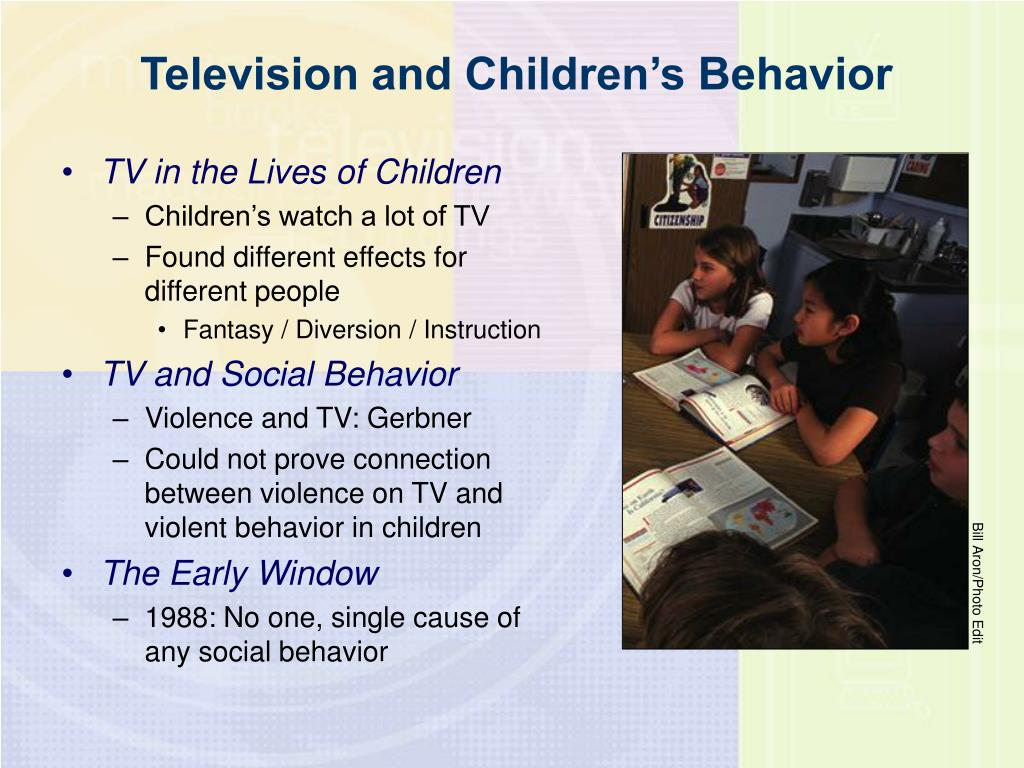 Television and Children's Behavior
