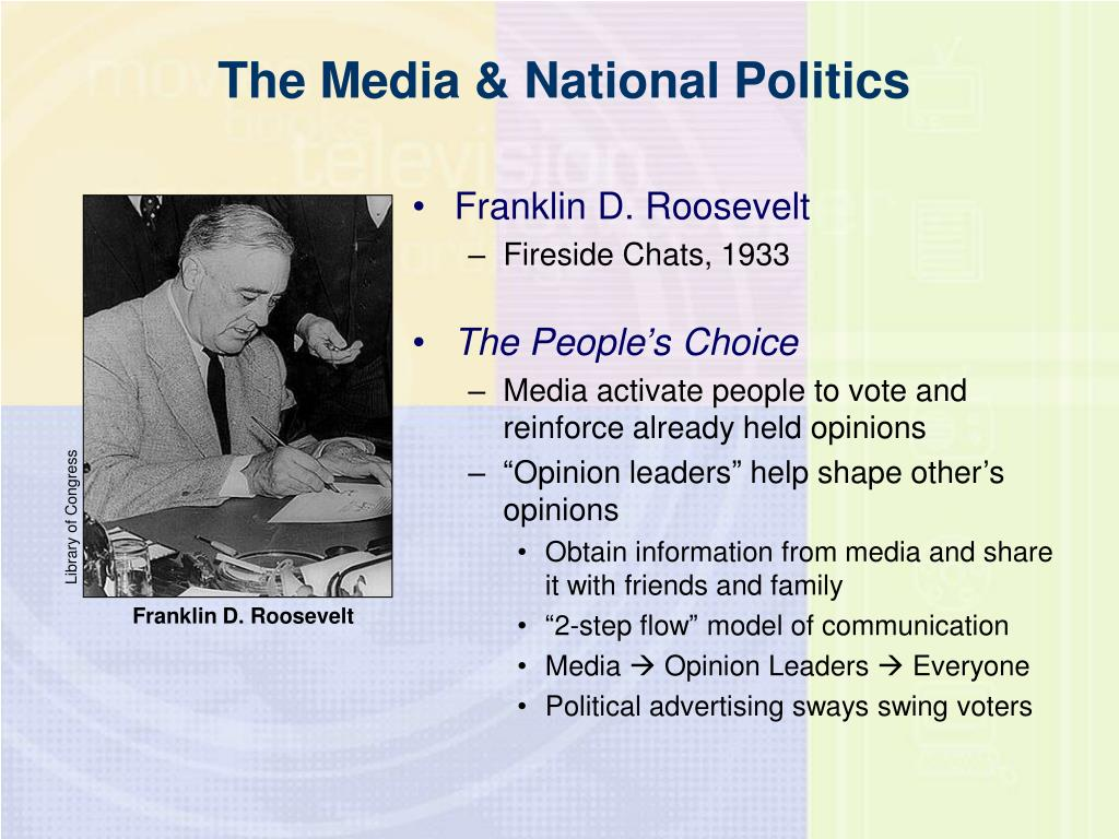 The Media & National Politics