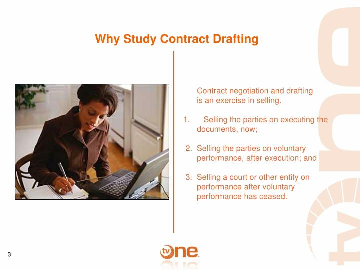 Why Study Contract Drafting