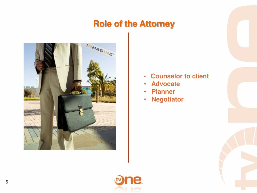 Role of the Attorney