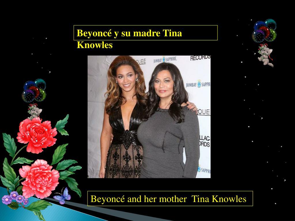 Beyoncé y su madre Tina Knowles