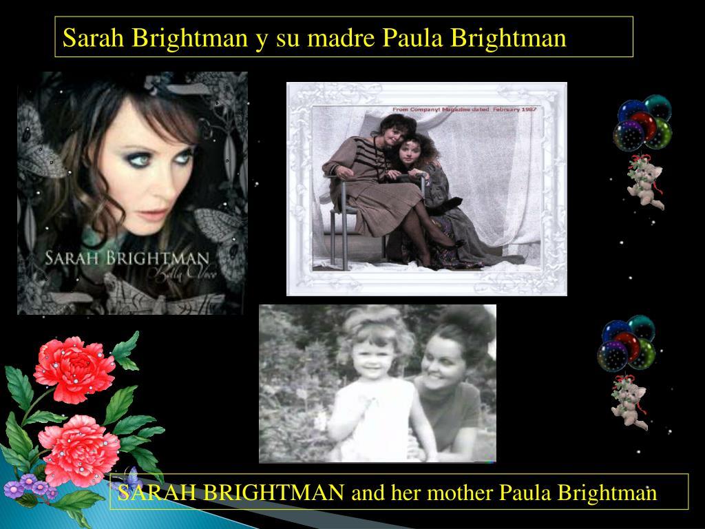 Sarah Brightman y su madre Paula Brightman