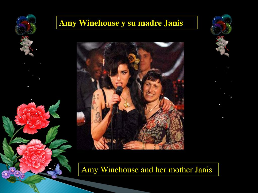 Amy Winehouse y su madre Janis