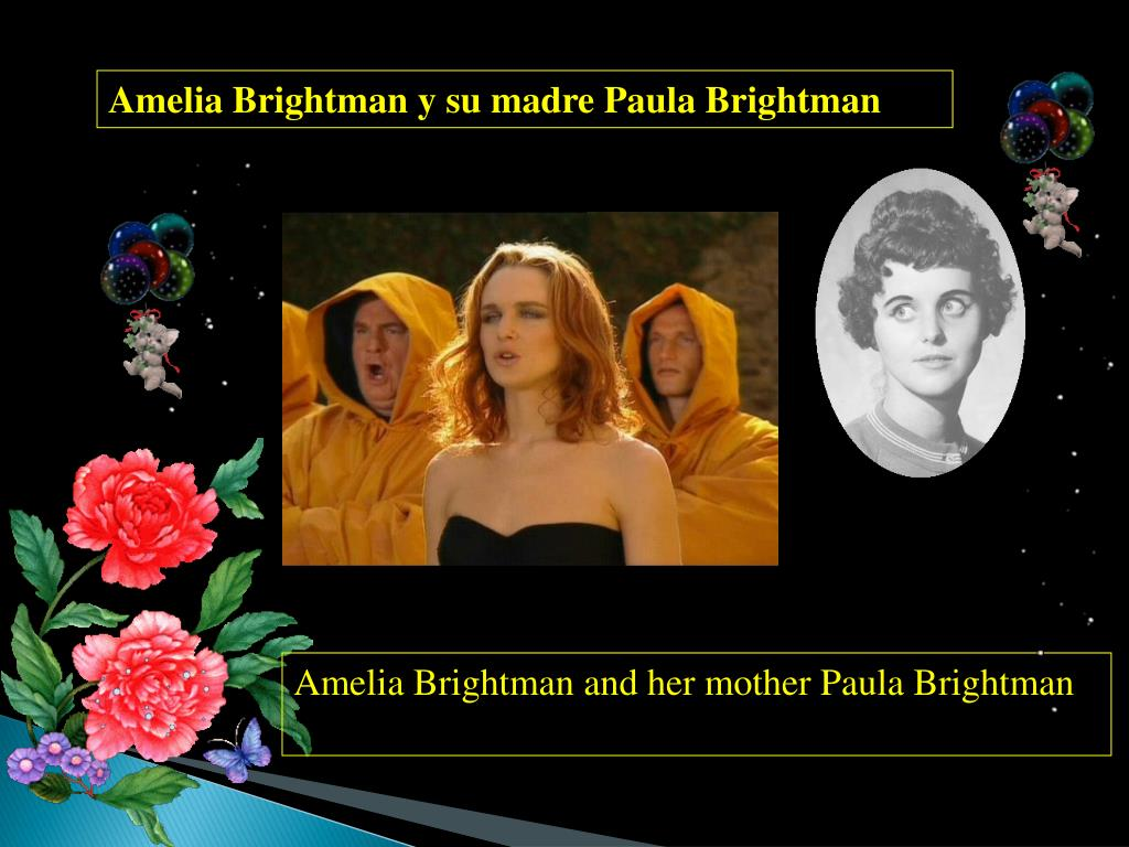 Amelia Brightman y su madre Paula Brightman