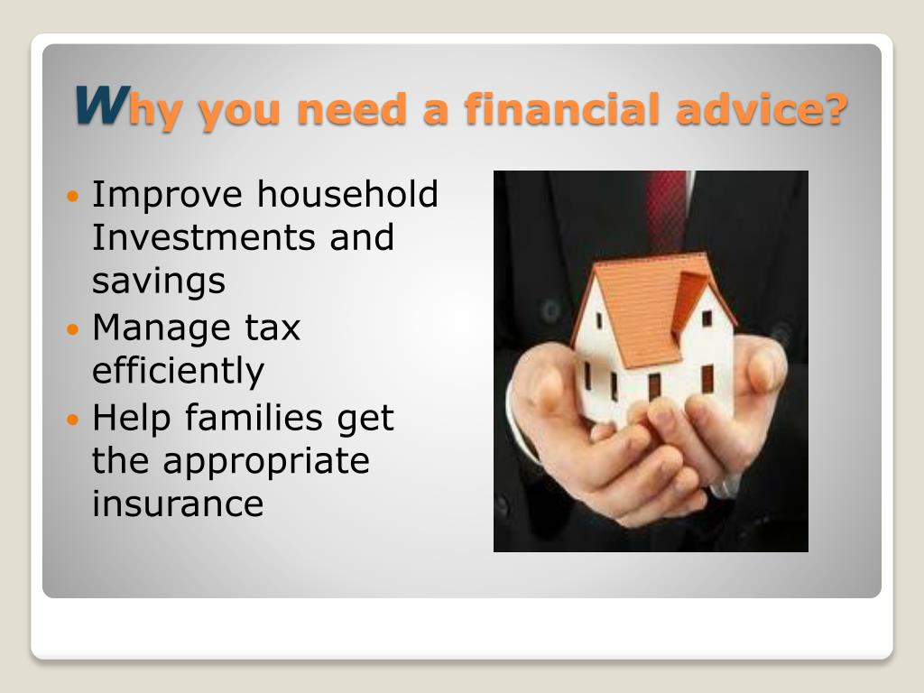 Improve household Investments and savings