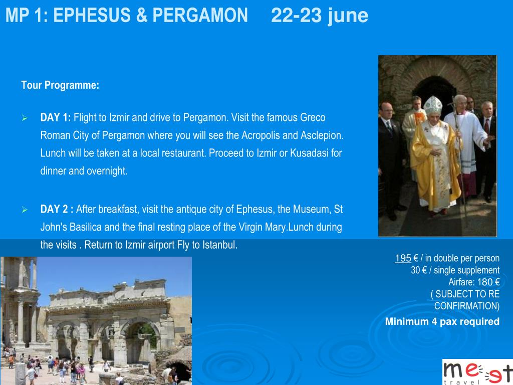 MP 1: EPHESUS & PERGAMON