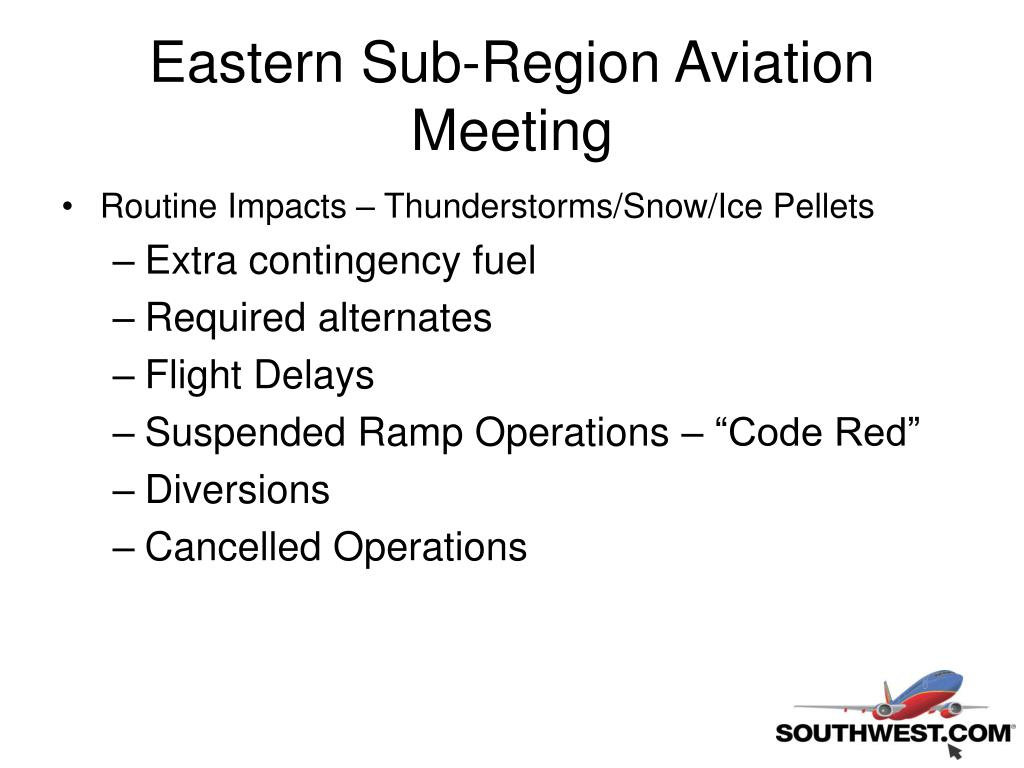 Eastern Sub-Region Aviation Meeting