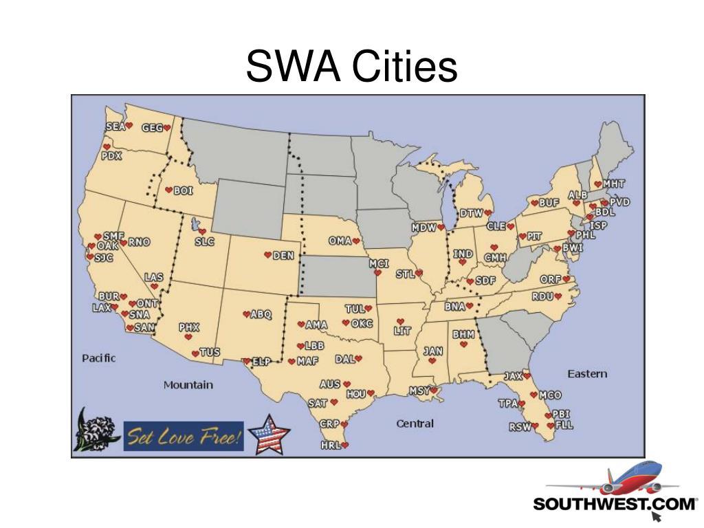 SWA Cities