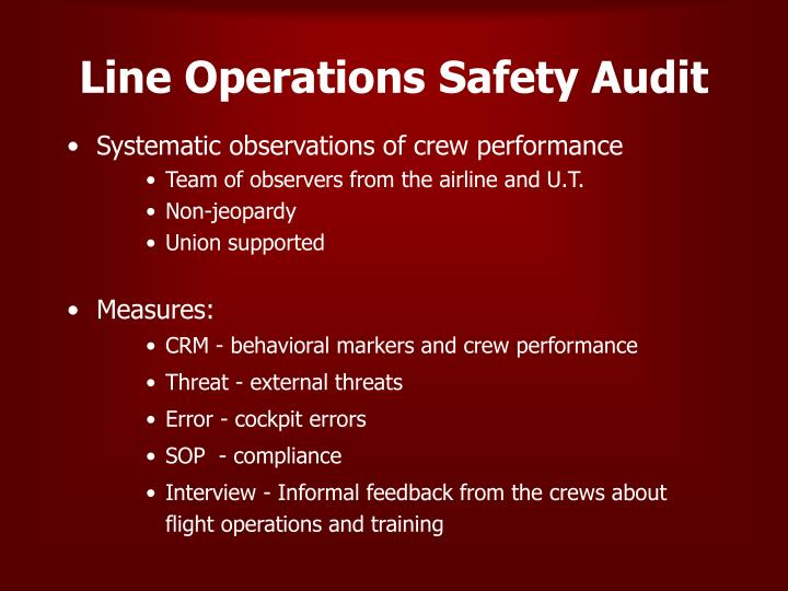 Line operations safety audit l.jpg
