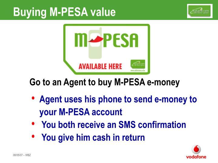 Buying M-PESA value