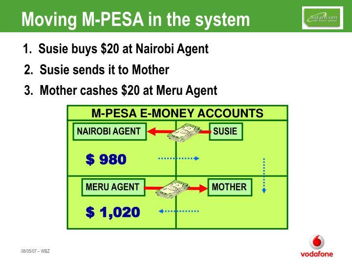 M-PESA E-MONEY ACCOUNTS