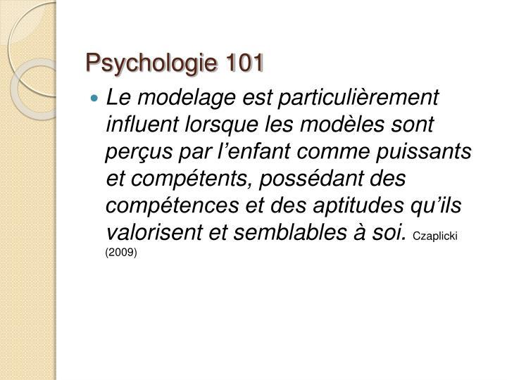 Psychologie 101