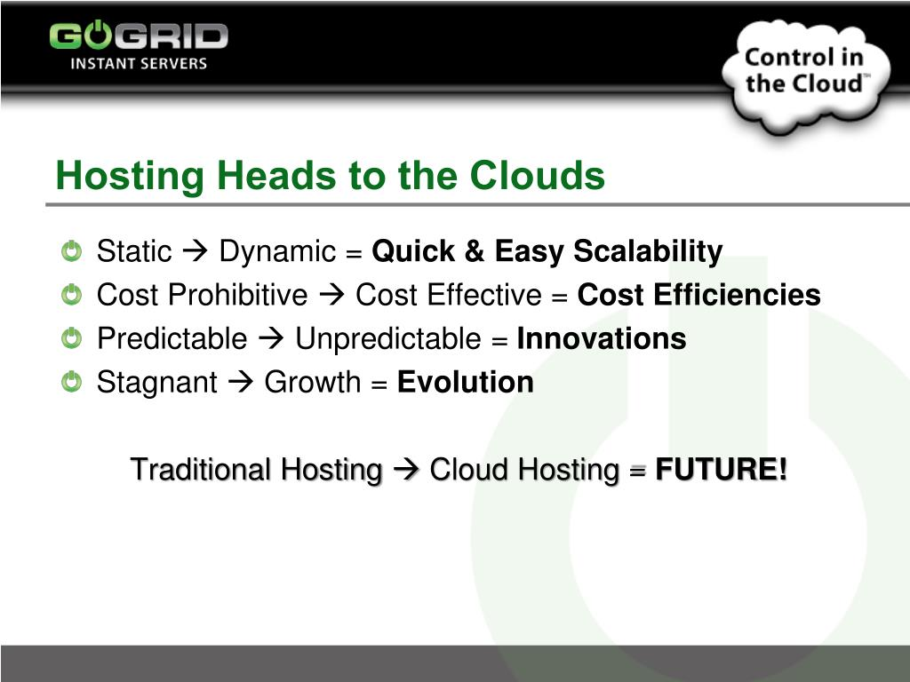 Hosting Heads to the Clouds