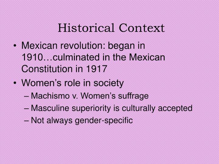Historical Context