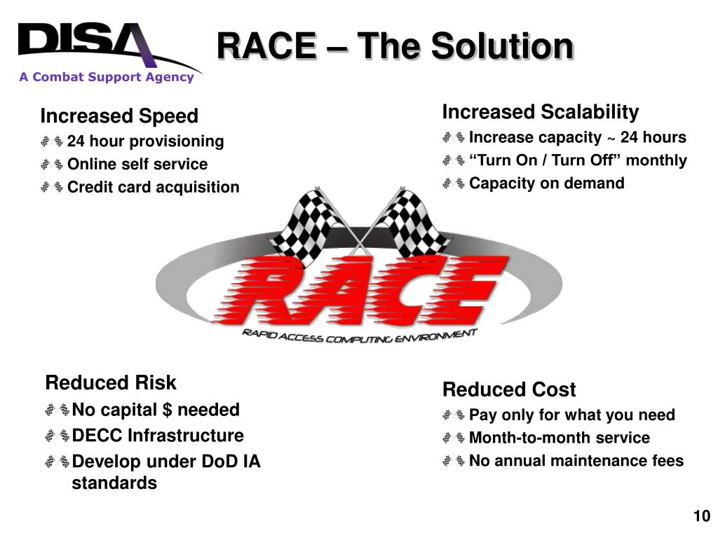 RACE – The Solution