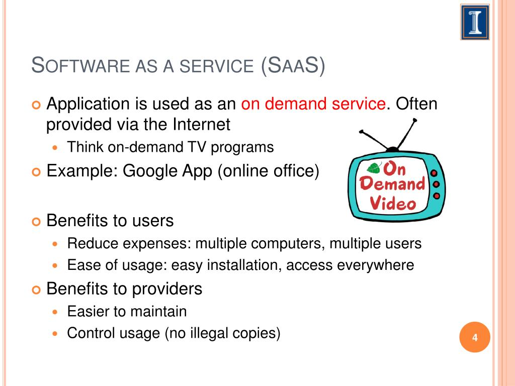 Software as a service (