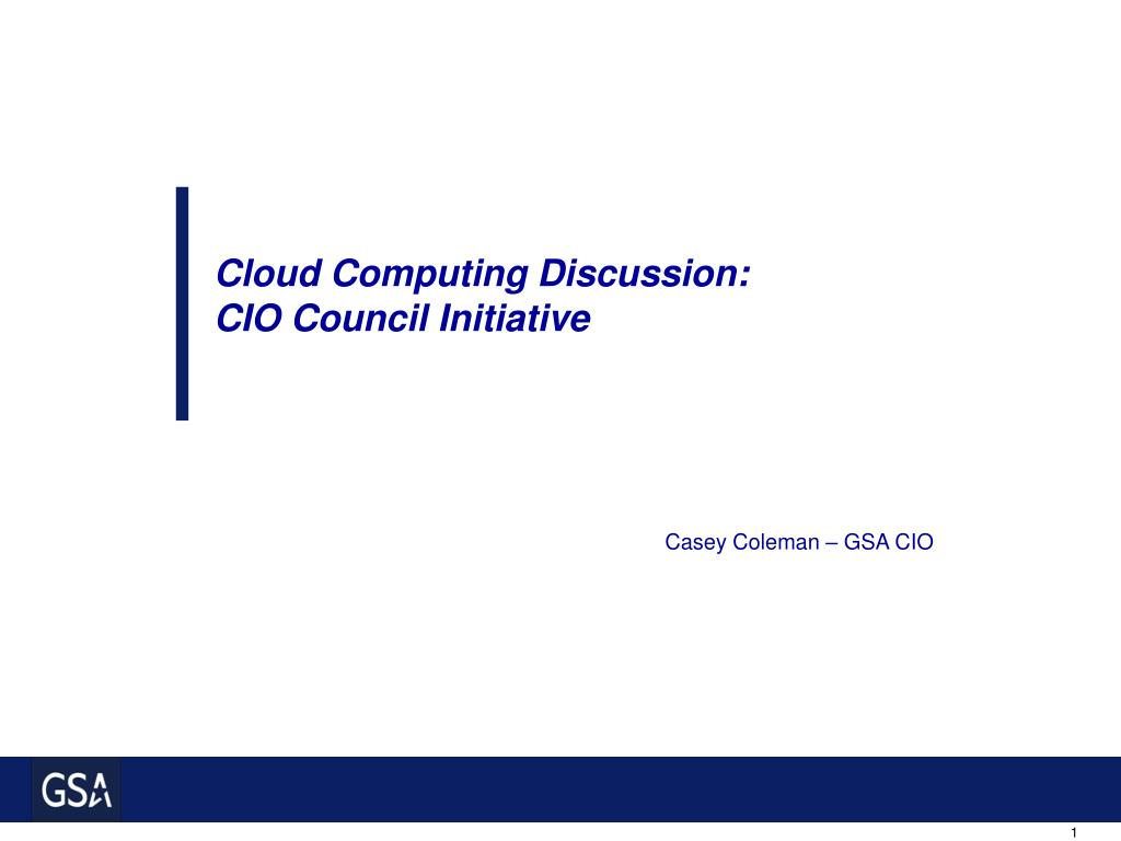 Cloud Computing Discussion: