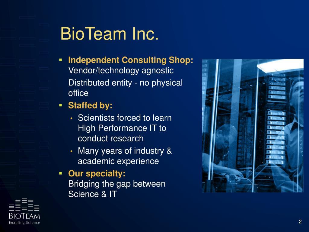 BioTeam Inc.
