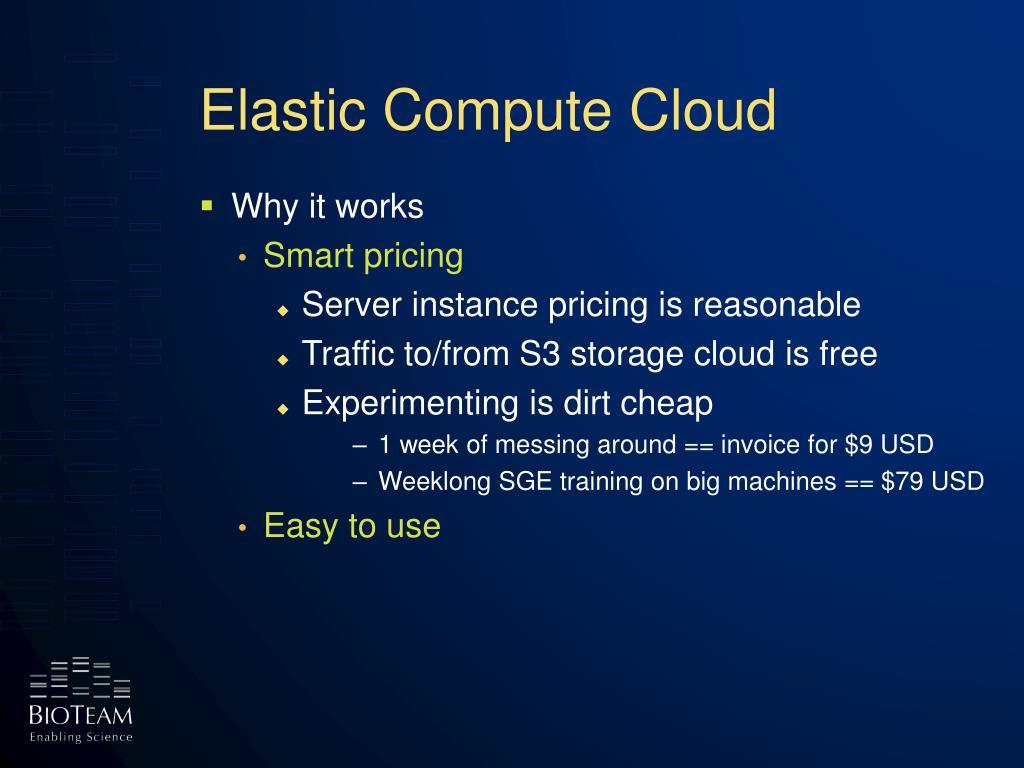 Elastic Compute Cloud