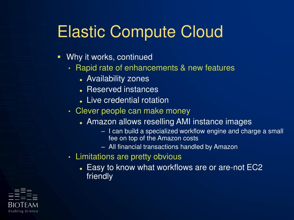 Elastic Compute Cloud