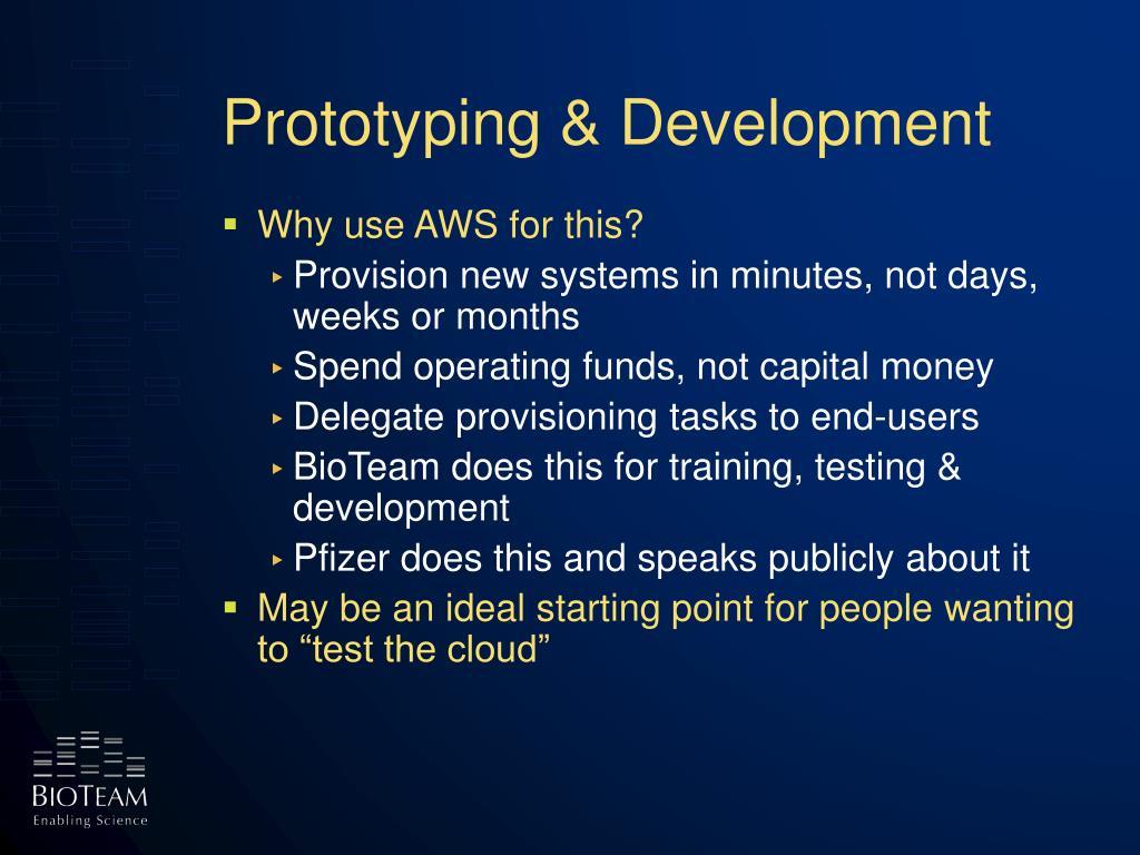 Prototyping & Development