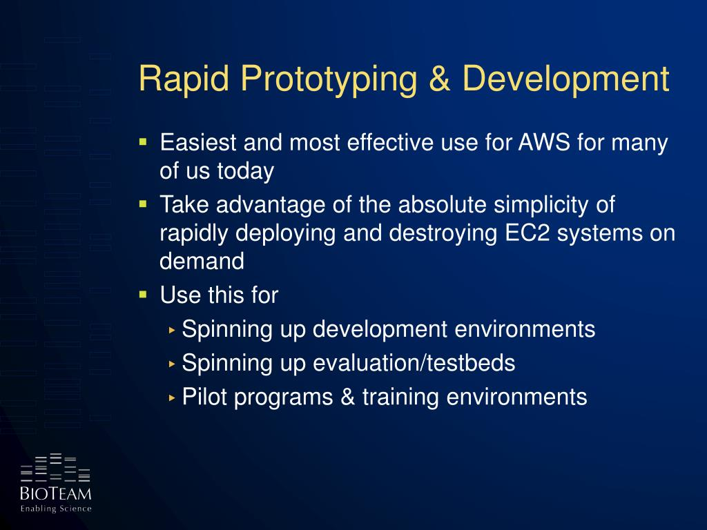 Rapid Prototyping & Development