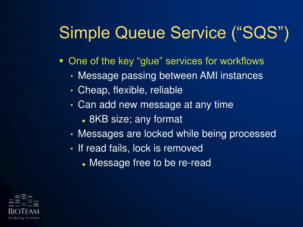 "Simple Queue Service (""SQS"")"
