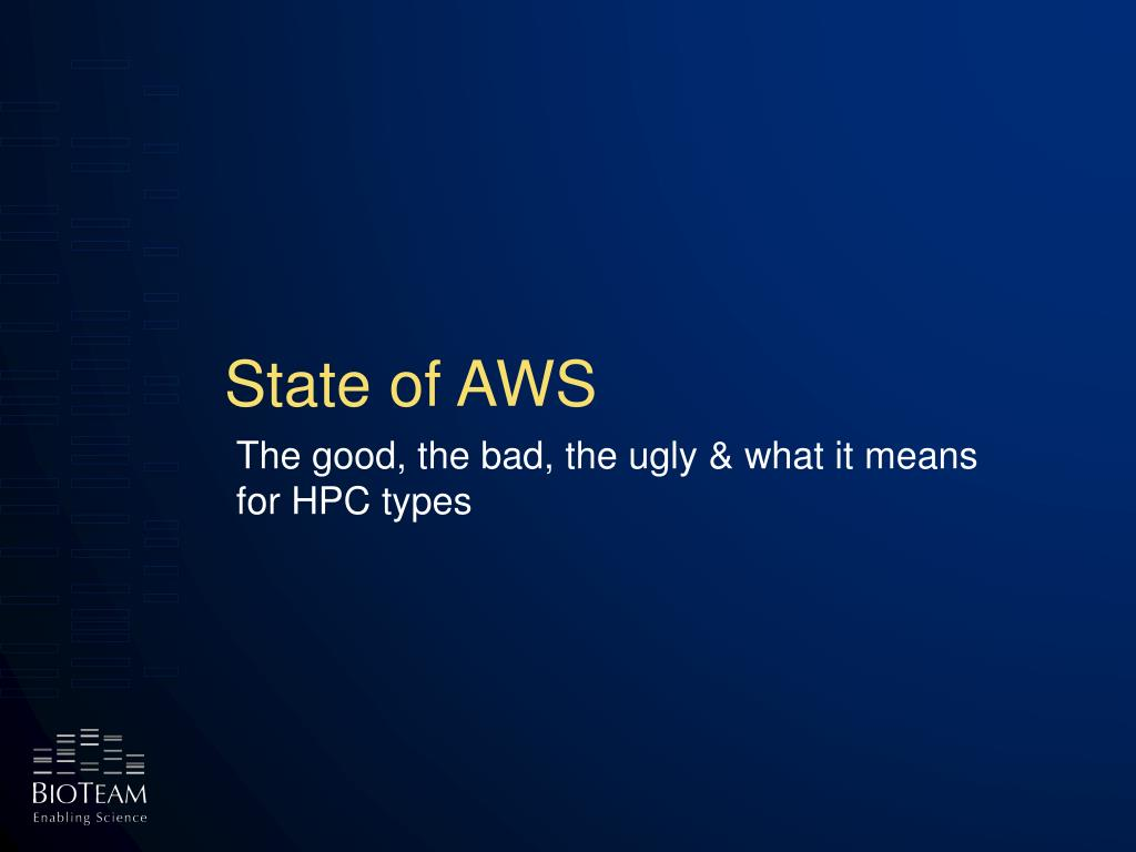 State of AWS