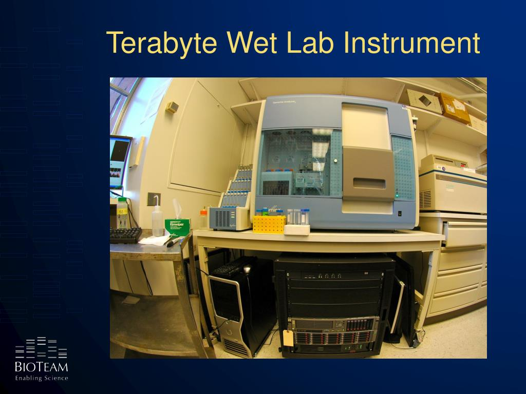 Terabyte Wet Lab Instrument