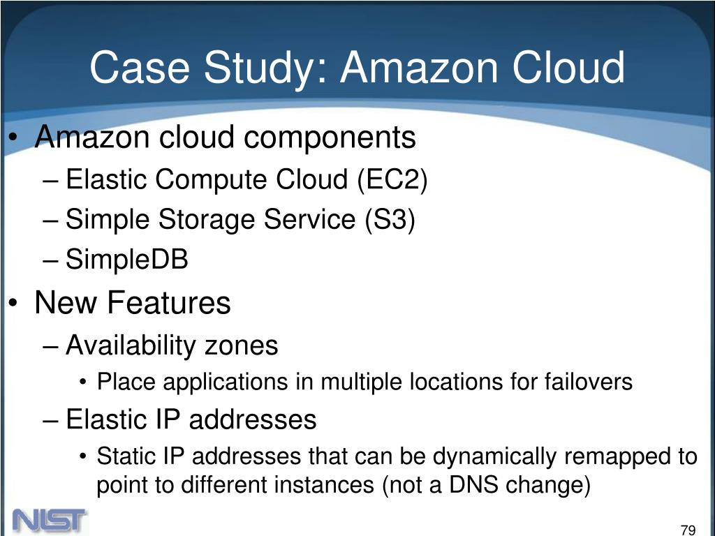 Case Study: Amazon Cloud