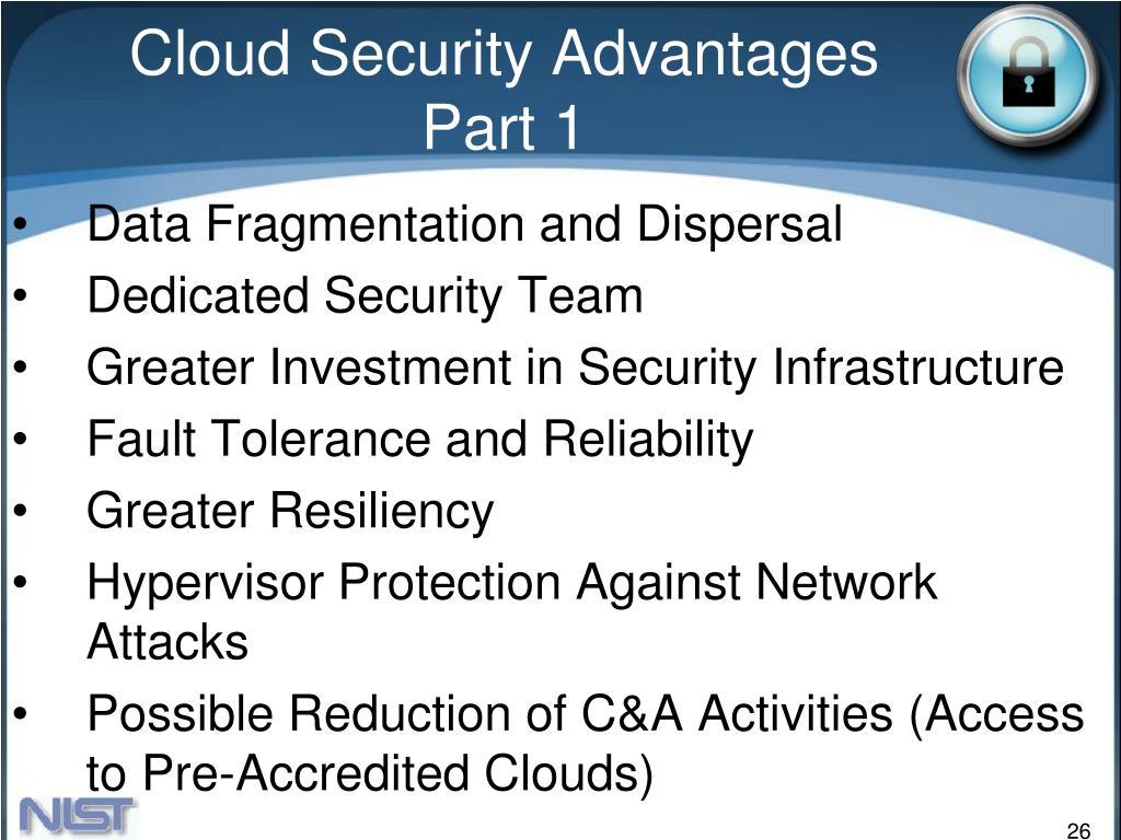 Cloud Security Advantages