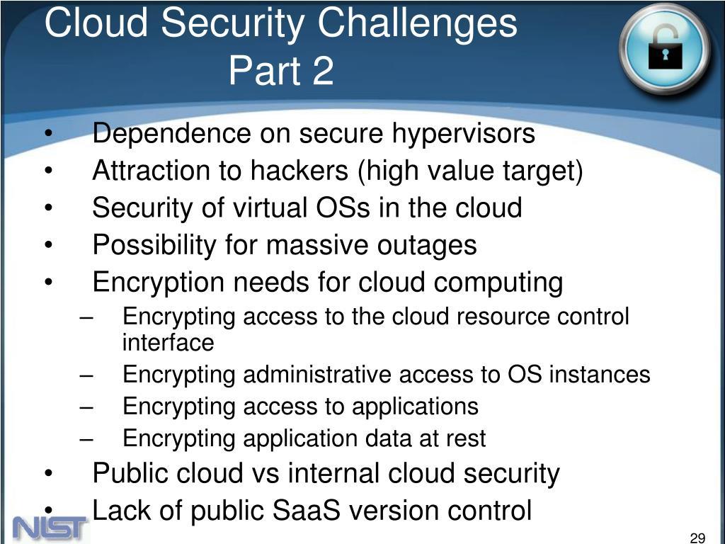 Cloud Security Challenges Part 2