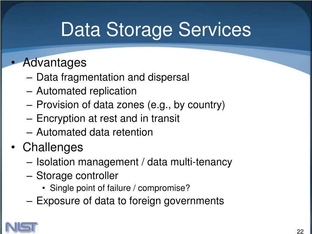 Data Storage Services