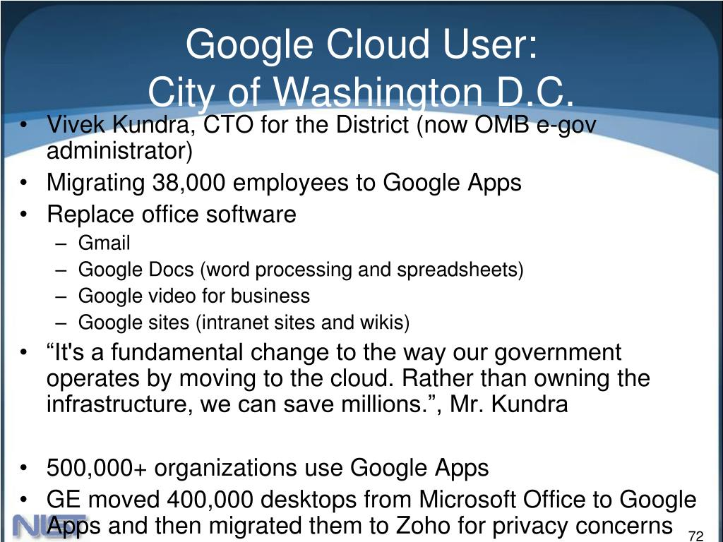 Google Cloud User: