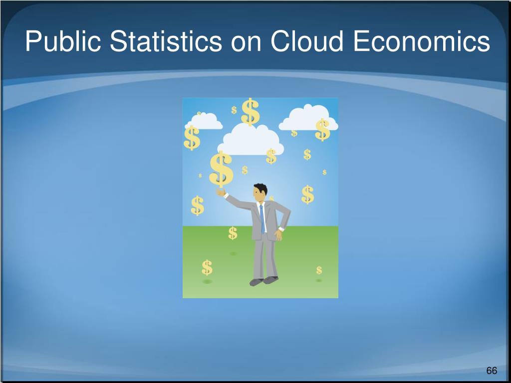 Public Statistics on Cloud Economics