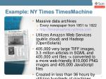 example ny times timesmachine