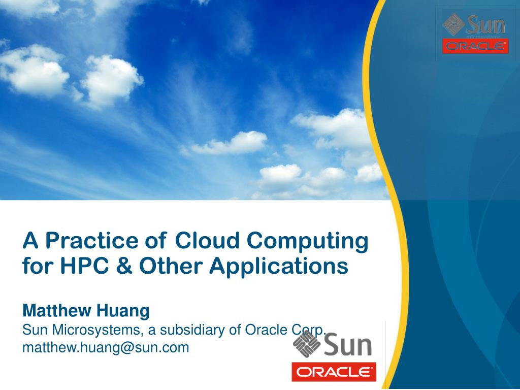 A Practice of Cloud Computing