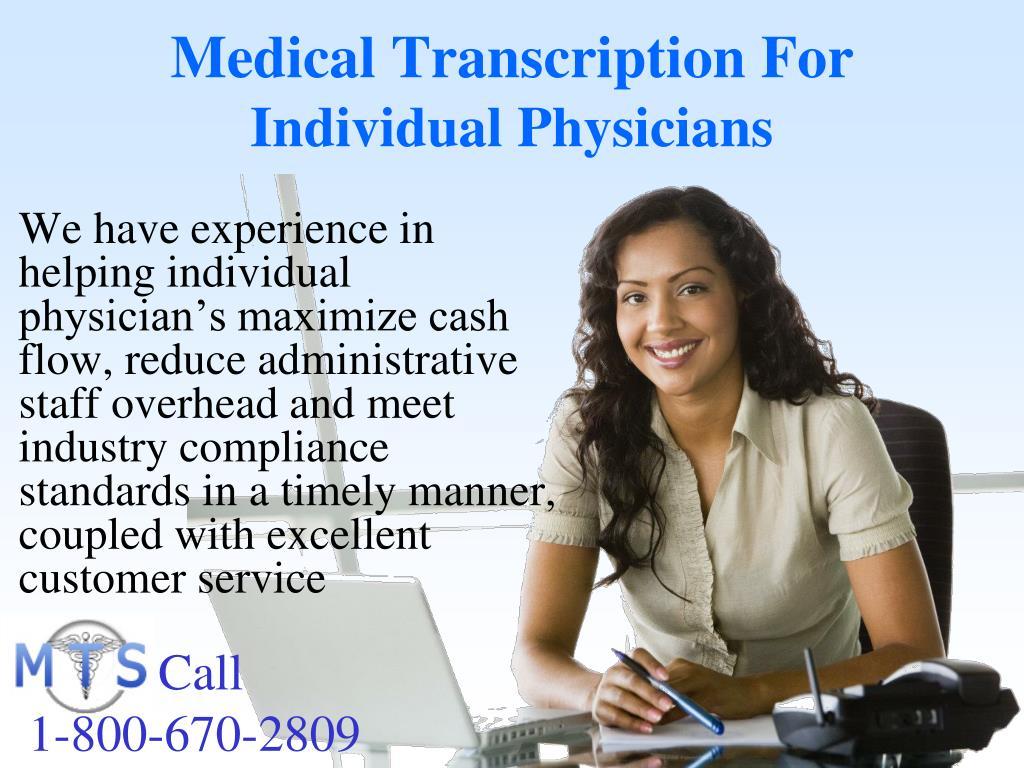 Medical Transcription For