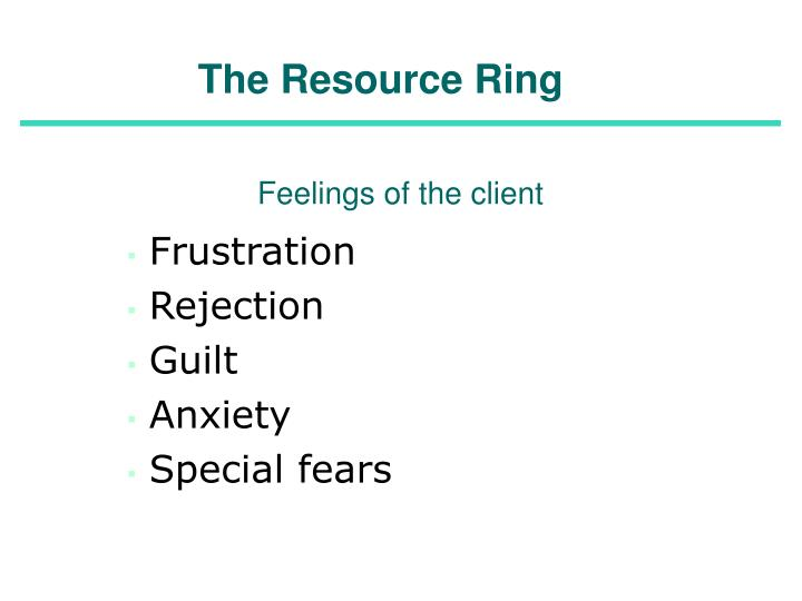 The Resource Ring