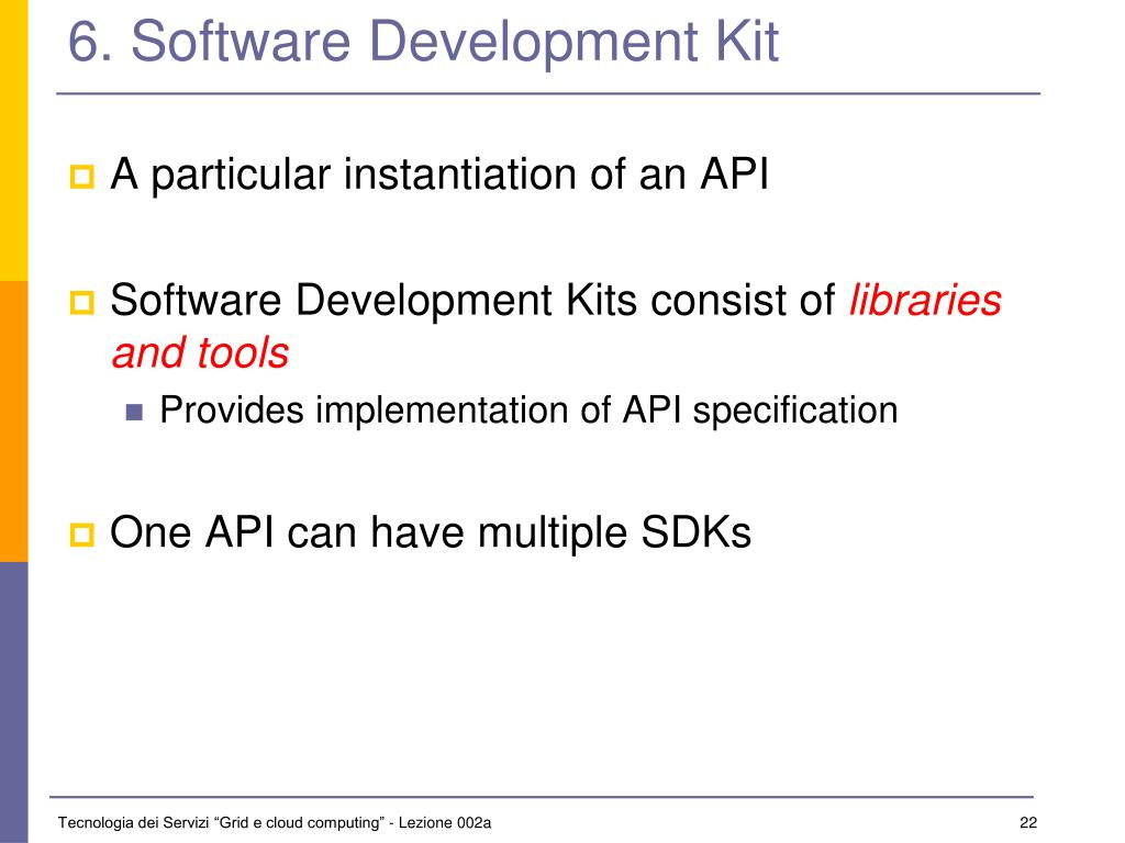 6. Software Development Kit
