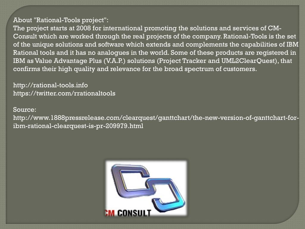 """About """"Rational-Tools project"""":"""