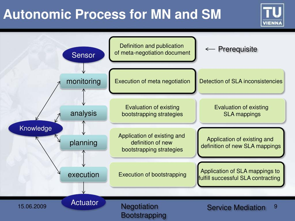 Autonomic Process for MN and SM