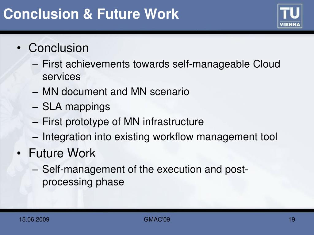 Conclusion & Future Work