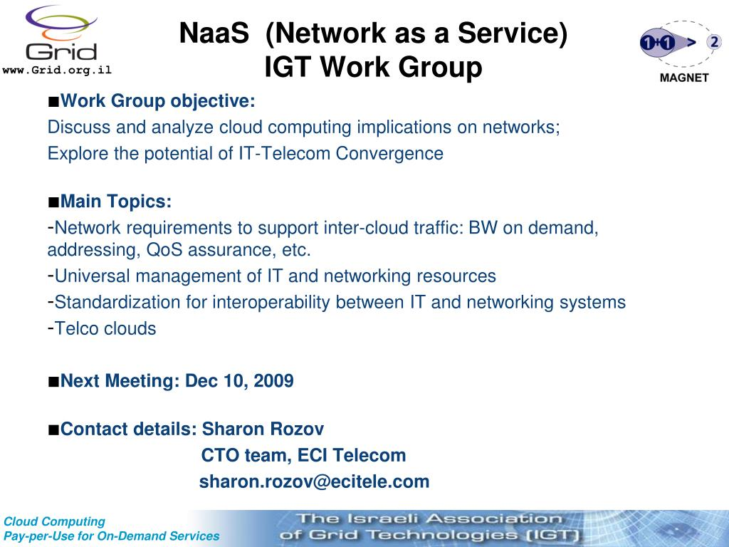 NaaS  (Network as a Service)